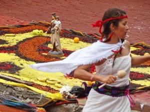 our lady of carmel dancer