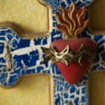 sacred heart cross