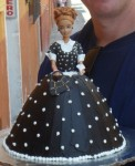 lucy doll cake