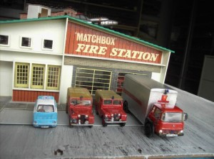 matchbox fire station
