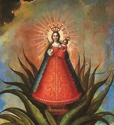 virgin of help cactus
