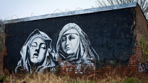 st teresa grafitti
